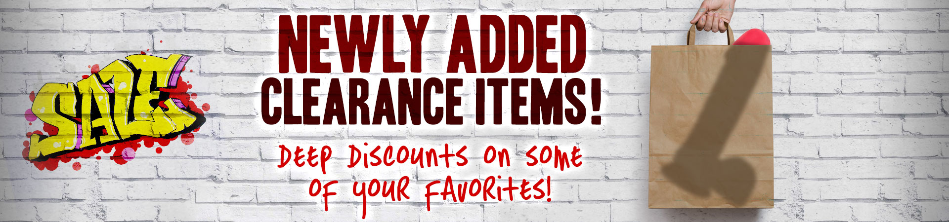 Newly Added Clearance!