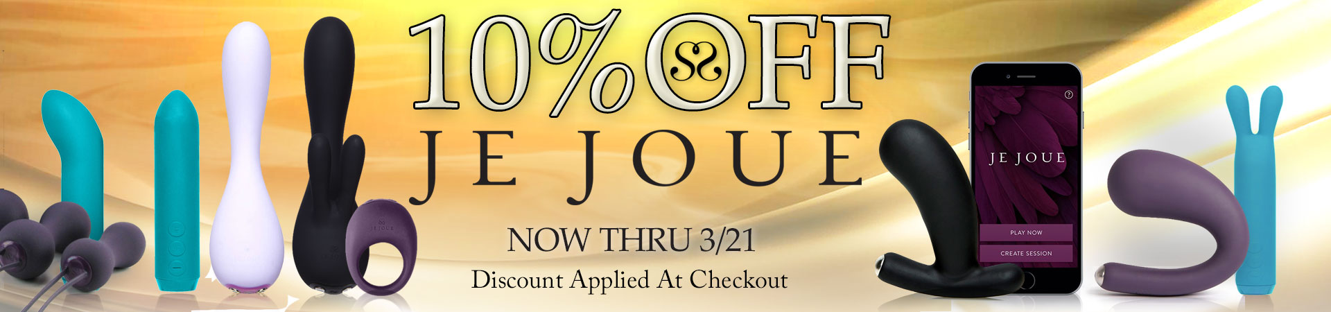 10% Off Je Joue - Now Thru 3/21 - Discount Applied At Checkout