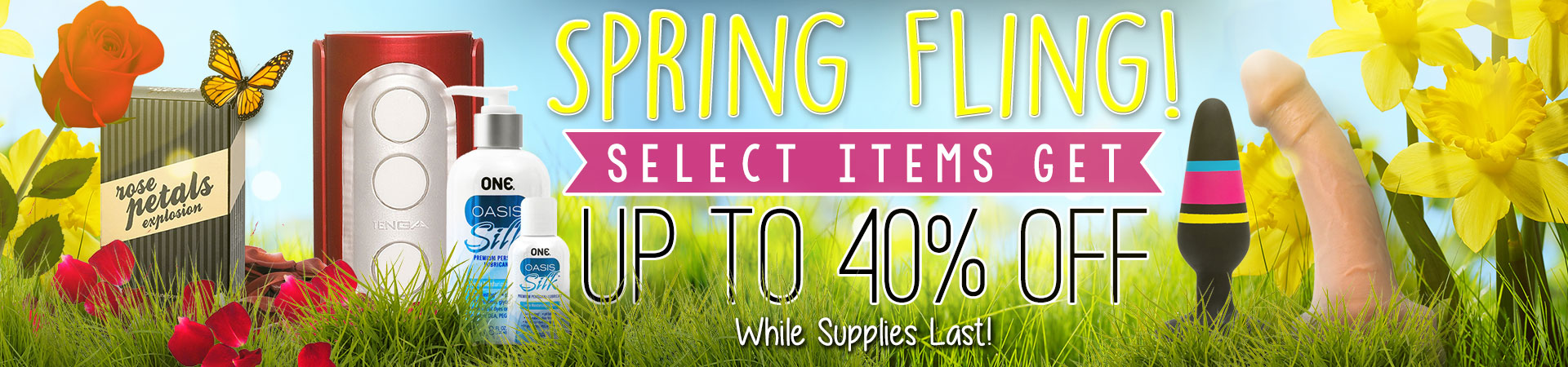 Shop Our Spring Fling Clearance. Up To 40% Off - These Deals Won't Last!